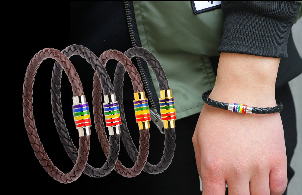 What are the sex codes for rubber bracelets