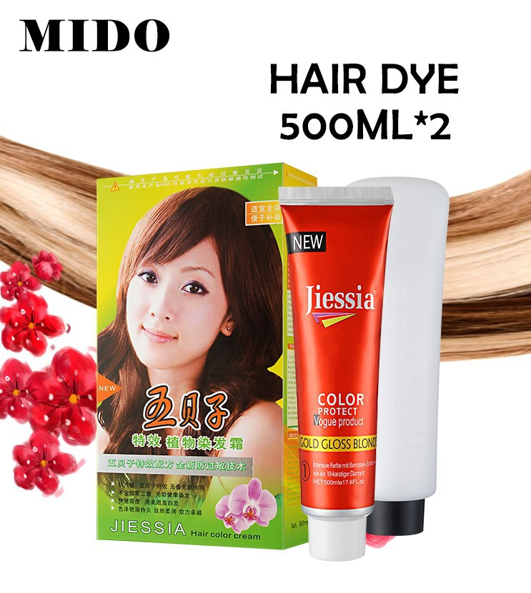 Imported other color or dark green hair dye without ppd