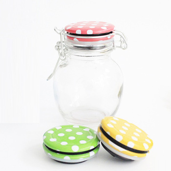 Glass Bottle Round Clamp Lid Jars Display Baby Food Manufacturer Wholesale Buy Glass Food Containerbaby Food Jars In Bulkround Clamp Lid Jars