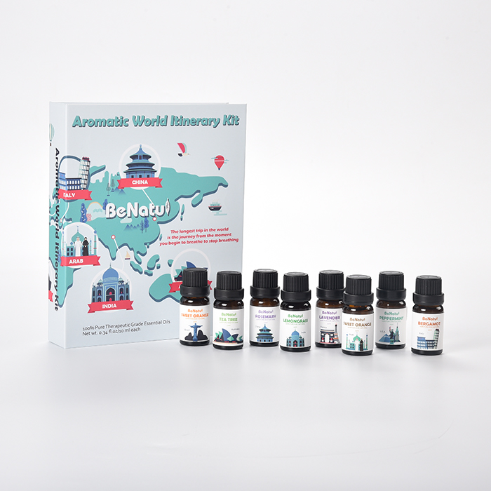Best Aromatherapy Top 8 Essential Oils 100% Pure Essential Oil Gift Set Lavender SPA Essential oil