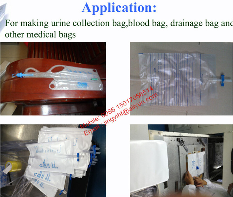 High Frequency Blood Bag Making Machine For Urine Bag And Blood Bag Making