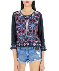 夏セクシーなシフォン女性スパンコールフリルミニスカート刺繍