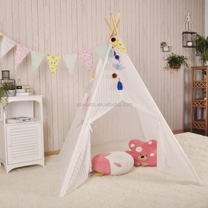 Cute Canvas Indian Kids Play tent