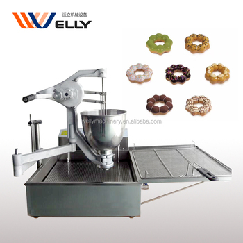 automatic mini donut fryer/industrial donut maker/ electric donuts machine