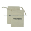 Fashion custom drawstring packaging round canvas bag