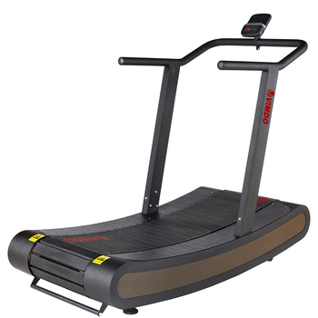 Vimdo New Arrival VC02 Factory Directly Low Noise Smoothly Self Generating Woodway Commercial Manual Curved Treadmill for sale