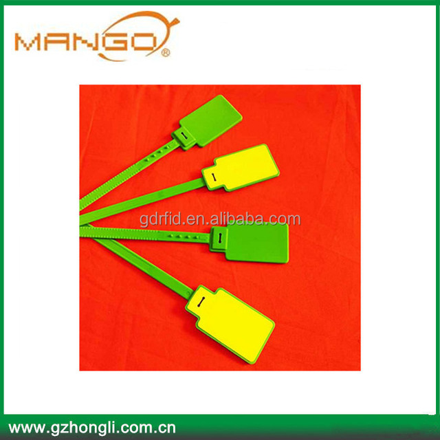 860MHz ~ 960 MHz UHF Zip Tie RFID Tag Seal Tag RFID Tags For Tracking