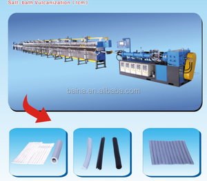 Doors and Windows anti-collision equipment ///Salt bath vulcanization (LCM) machinery