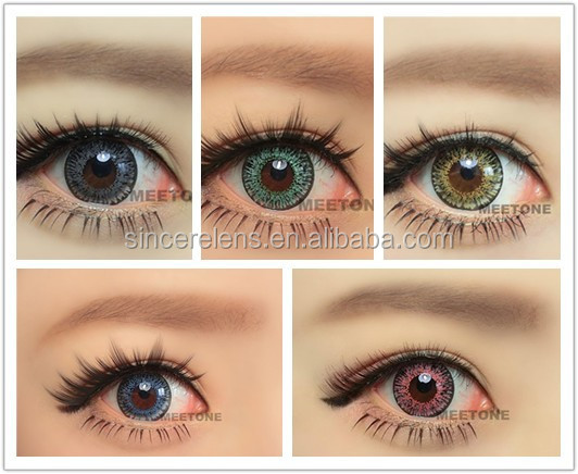 Meetone Cupid 3 Tone Colored Lenses Comestic Color Contact Lens ...