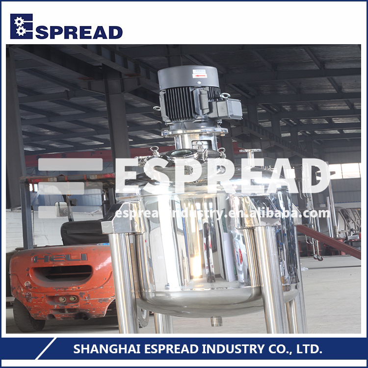 ESFV-Series 1000-10000L Capacity Multi-functional Stainless Steel Mixing Tank Vessel