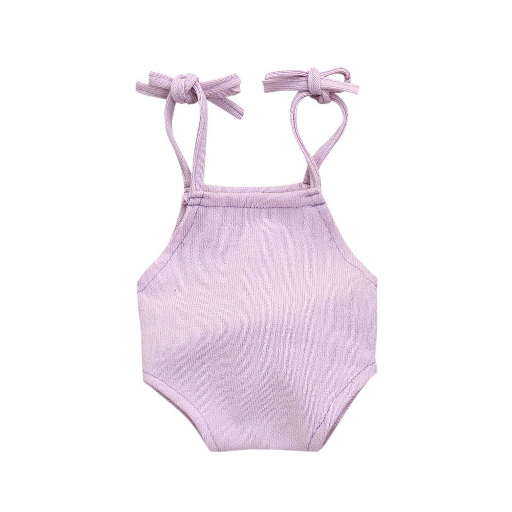 Fenleo Newborn Baby Photography Props Rabbit Tail Knitted Romper Costume Outfit