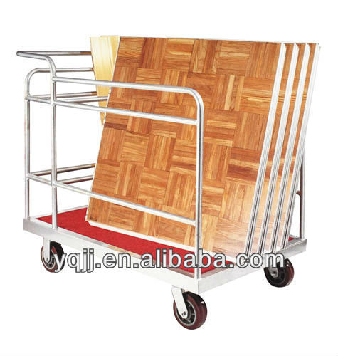 banquet table trolley cart