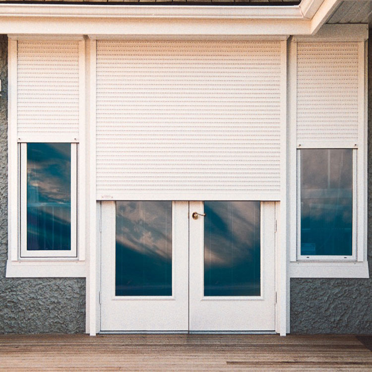 house external window shutters motorized exterior aluminum shutters