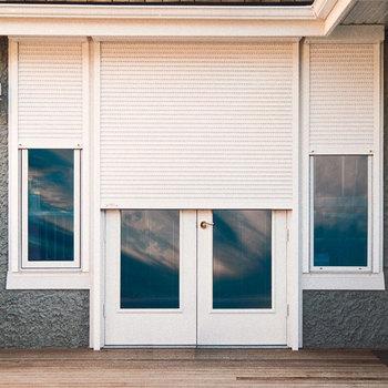 House External Window Shutters Motorized Exterior Aluminum