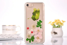 Ultra Thin Soft Phone Back Cover Butterfly TPU Gel Transparent Cover for iPhone 5 5S 6 6S 7 7Plus
