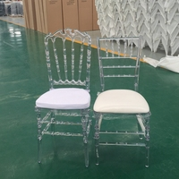 Hotel Plastic Tiffany/Napoleon Wedding Chair for Banquet