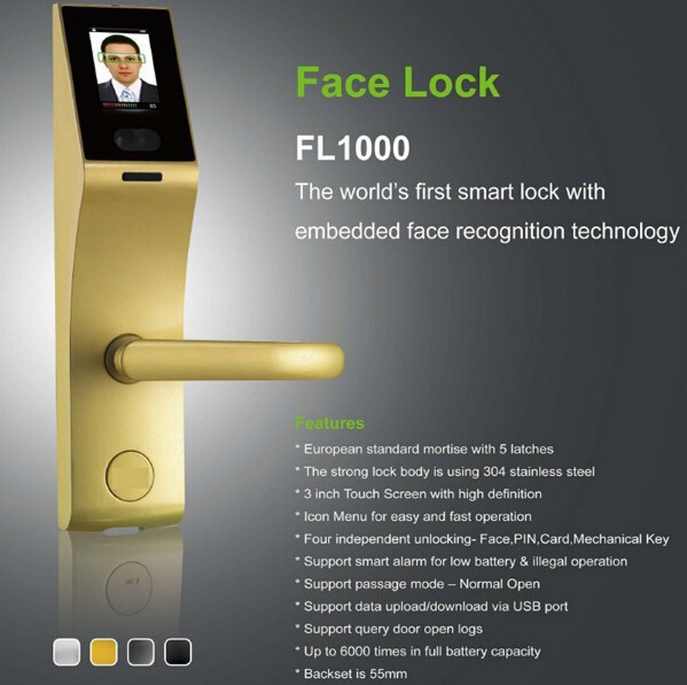 3 Inch Touch Screen Smart Biometric Face Door Lock With Embedded Face Recognition - Buy Face Recognition Door LockFace LockBiometric Door Lock Product on ...  sc 1 st  Alibaba & 3 Inch Touch Screen Smart Biometric Face Door Lock With Embedded ...