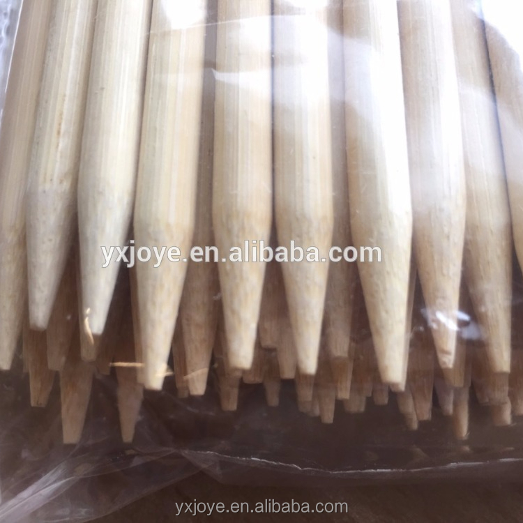 36 inch *7 mm round Bamboo skewer Sticks for marshmallow and food grilling