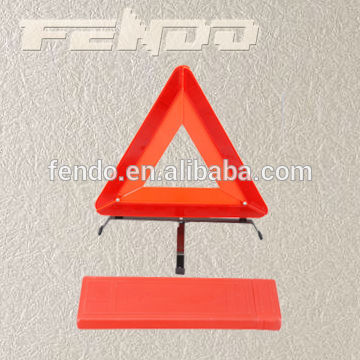 ECE E-Mark Certified Safety Car Emergency Reflector Warning Triangle, Flashing Emergency Triangle