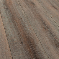 Grey antique Oak engineered wood flooring