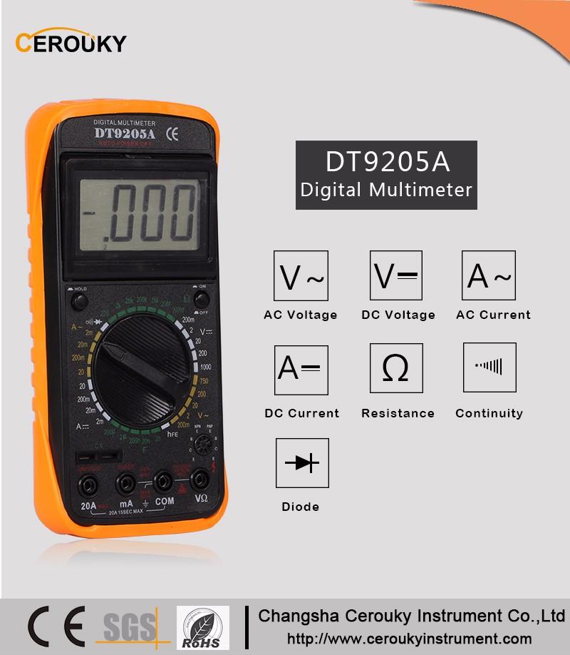 Digital Multimeter 20a 1000v : Counts v ac dc a multifunction digital