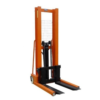 Factory supply 2T hydraulic manual pallet stacker/small hand forklift price