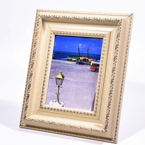 Customized American Value Large Picture Frames/Gold Photo Frame, 4x6, 8x10 Photo