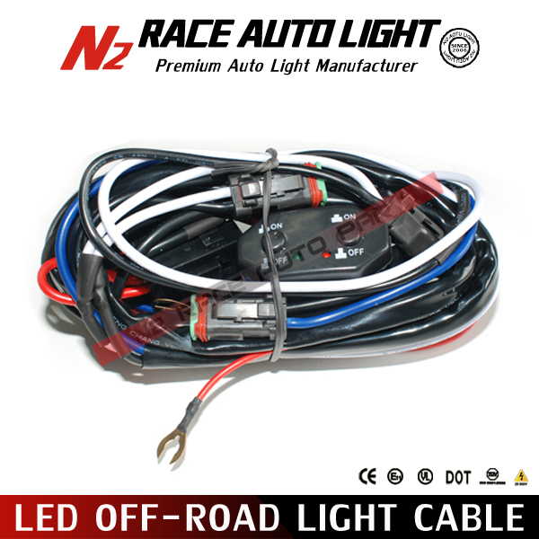 led off road wiring harness kit work light wire hardness for utv led off road wiring harness kit work light wire hardness for utv atv and