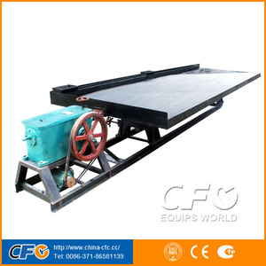 Gravity concentration 6-s shaking table manufacturer made in Henan