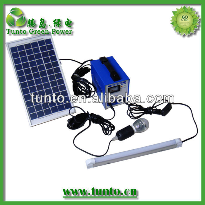 6W portable solar power <strong>system</strong> for home,4AH battery solar lighting <strong>system</strong>