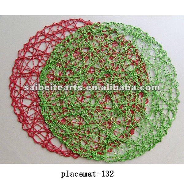 Scegliere Produttore Alta Qualità Pazzo Tessuto Placemat E Pazzo