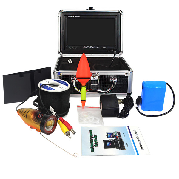 7 Inch 30m Underwater Camera System for Fishing Finder Inspection Camera