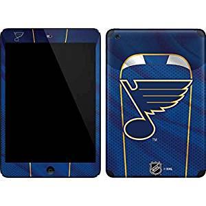 NHL St. Louis Blues iPad Mini (1st & 2nd Gen) Skin - St. Louis Blues Home Jersey Vinyl Decal Skin For Your iPad Mini (1st & 2nd Gen)