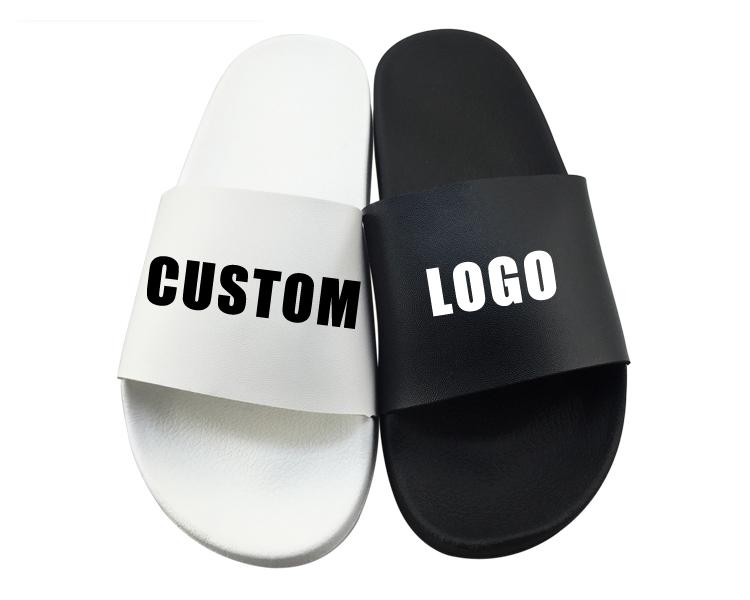 Man Shoes Unisex Flat China Comfortable Latest Design Supplier White Slipper