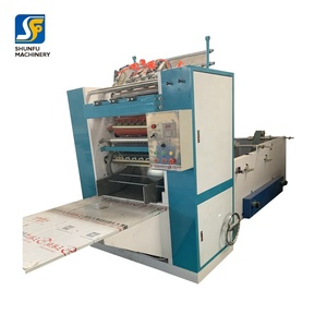 Cost of automatic tissue facial machine with embossing and folding unit