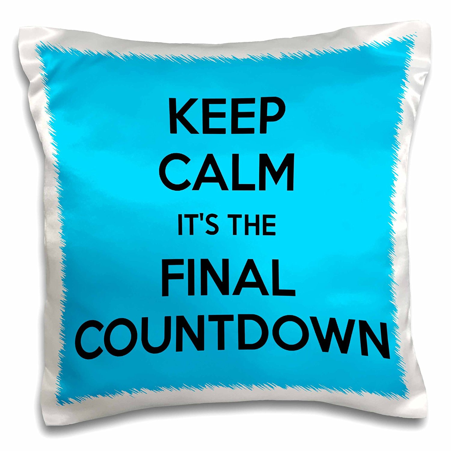 16bd95b11 EvaDane - Funny Quotes - Keep calm its the final countdown, Blue and Black -