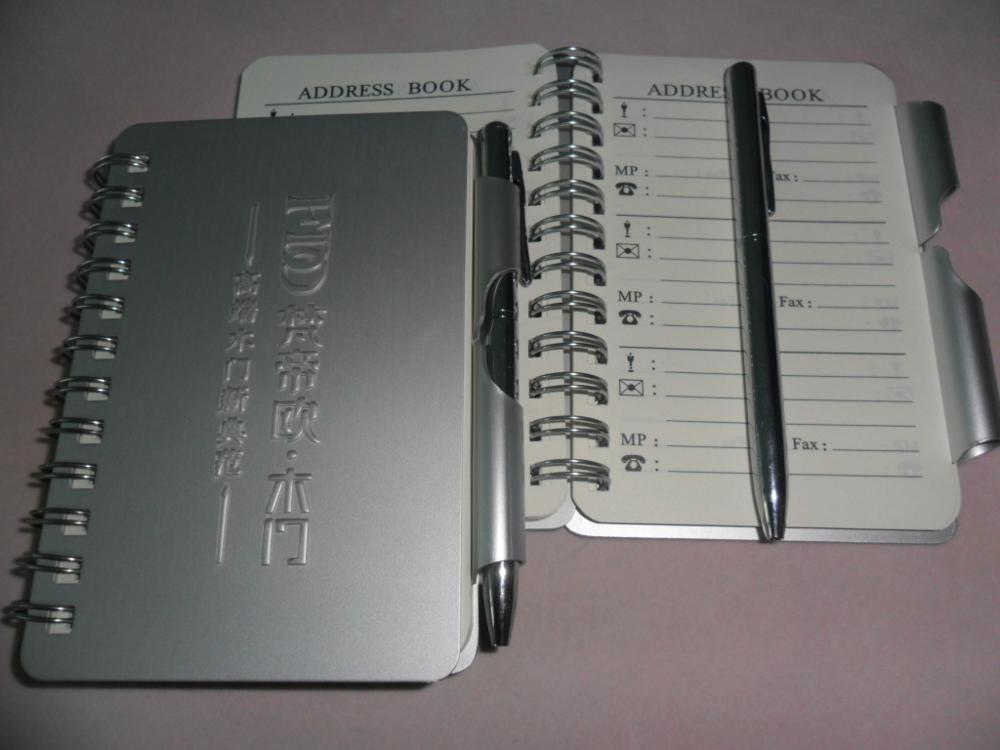 Mini Spiral Bound Metal Address Book Buy Spiral