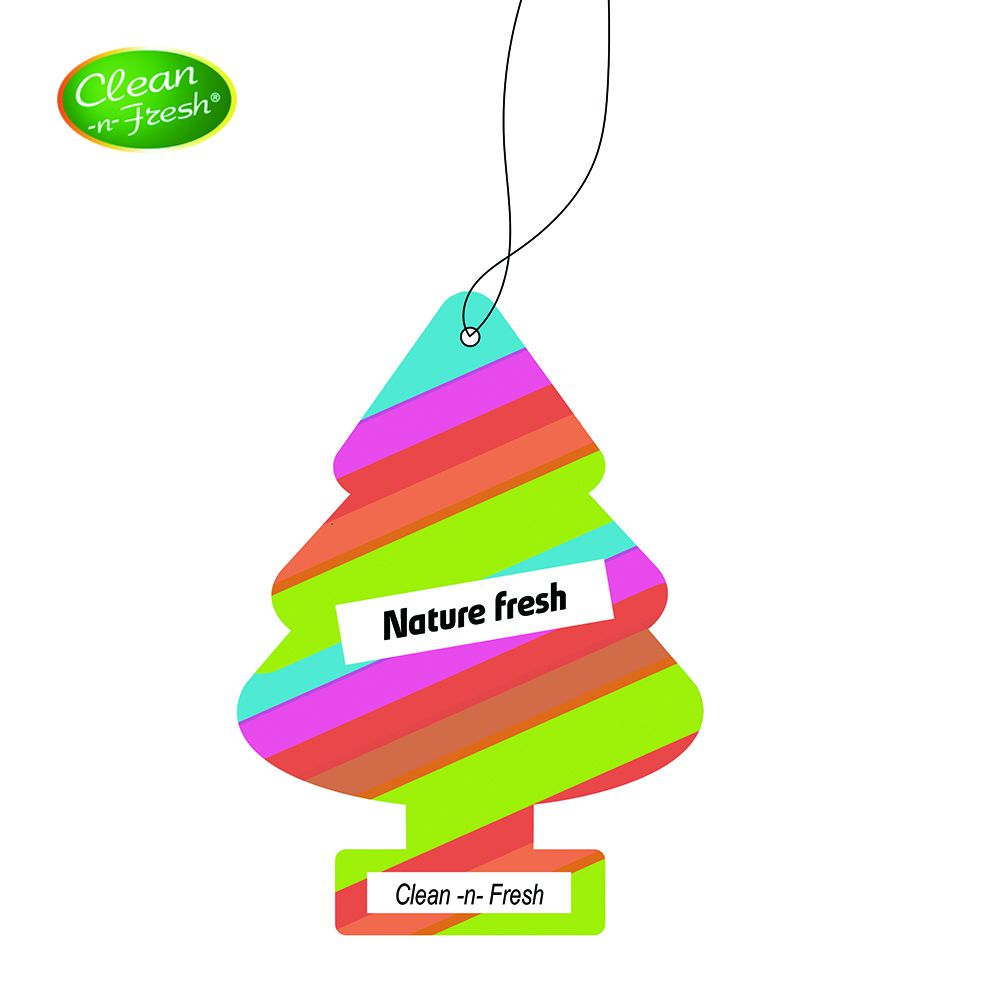Little Christmas Tree Custom Hang กระดาษ Car Air Freshener
