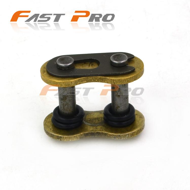 Мото арматура изменение 428520525530 сальник утолщенной цепи цепочка пряжка