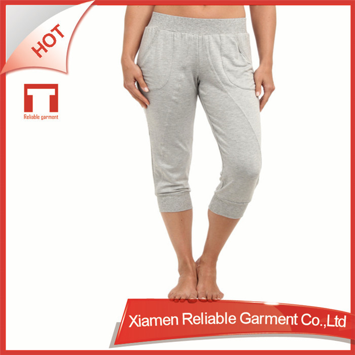 Custom Fitness/Skin tight knit OEM/ODM wholesale bamboo yoga pant/wear