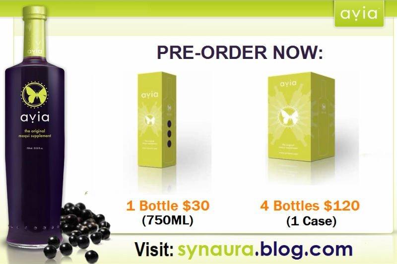Synaura Avia Maqui Berry Juice