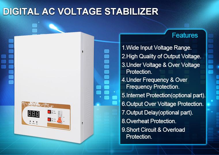 Digital Ac Home Electric Current Sen Amp Pandit Stabilizer