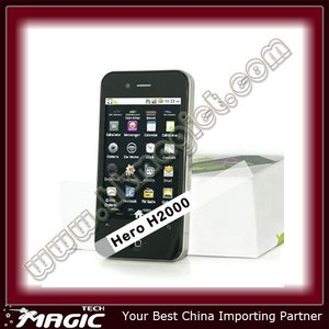 city call android mobile phone for hero h2000