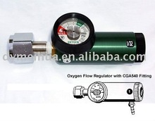 CGA540 moer & tepel zuurstof regulator