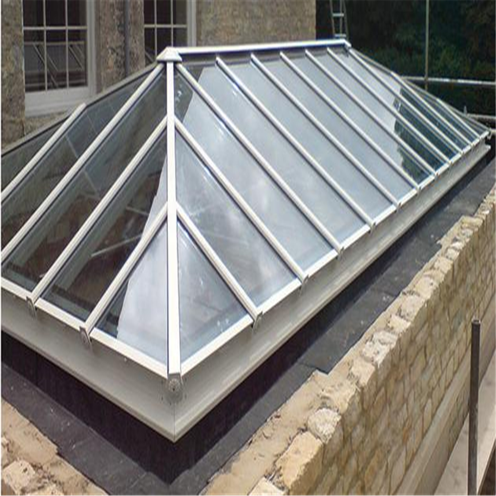 Best price of 4mm 5mm garage polycarbonate retractable skylight
