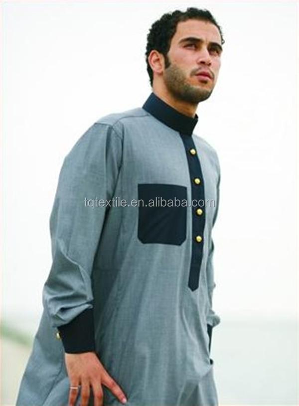 Stock Lots Poly Spun Arab Thobe Fabric