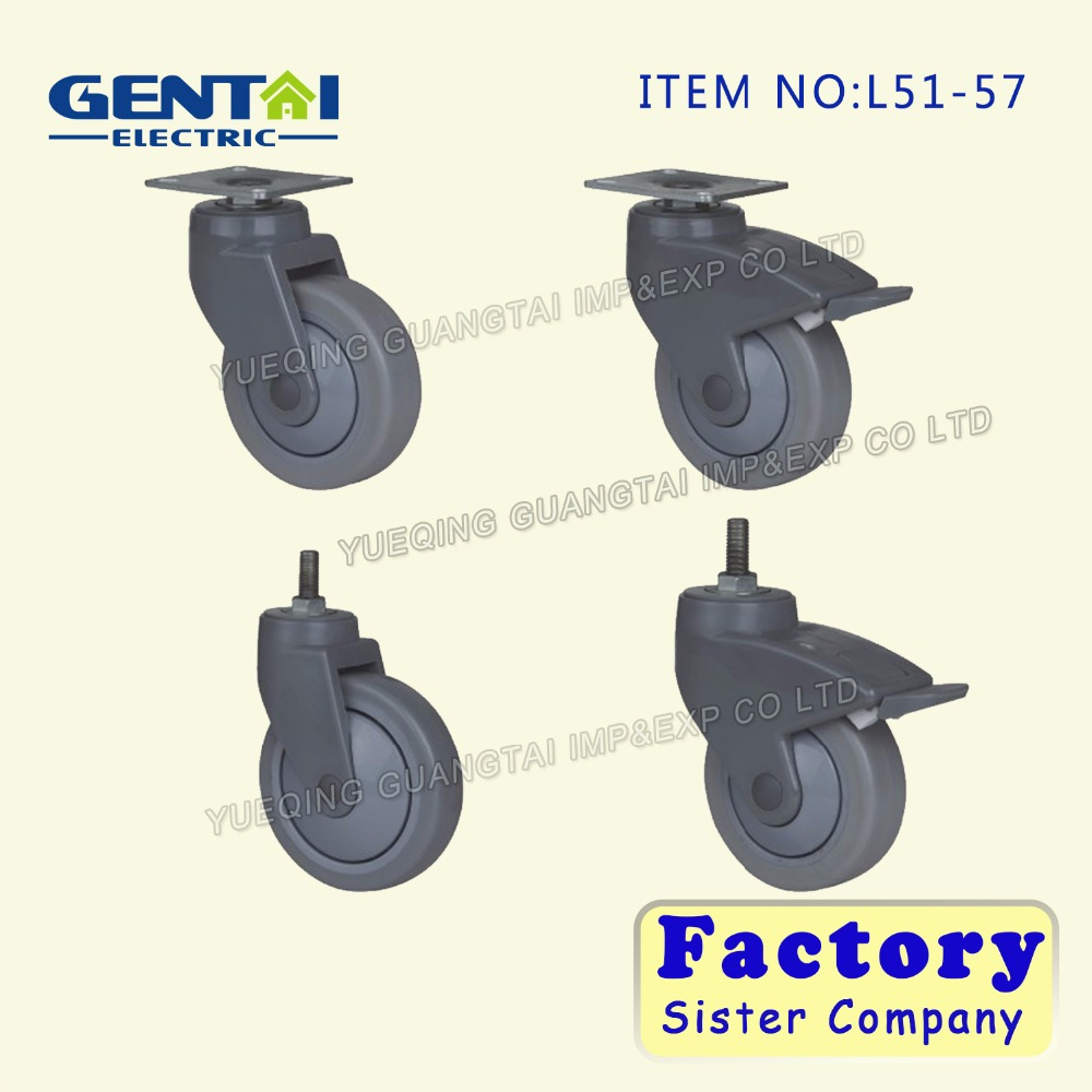 China factory Plastic chair caster wheel from wenzhou