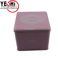 Beautiful High quality tin thin metal tin box for gift