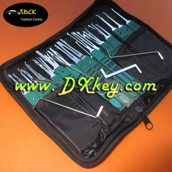 Good market 32 piece klom lock pick set/picking tool set/locksmith tools