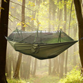 Outdoor Jungle Camping Mosquito Net Hammock Hanging Swing Bed Nylon Sleeping Bed Hiking Travel Kits Leisure